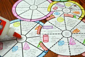 roue vocabulaire géométrie
